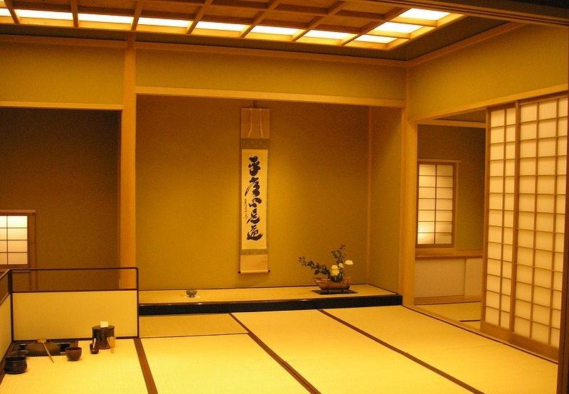 Токонома в японском интерьере