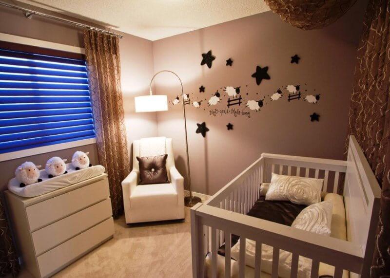 Дизайн освещения детской