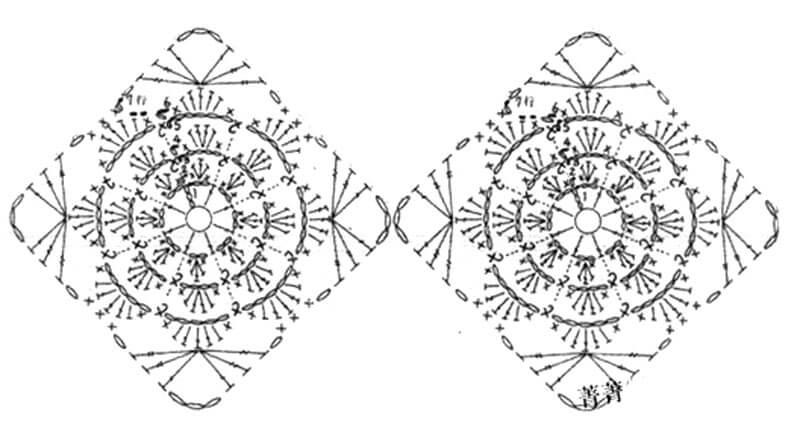 Квадрат крючком схемы