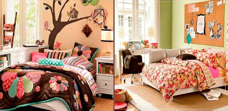 Как украсить комнату девочки-подростка