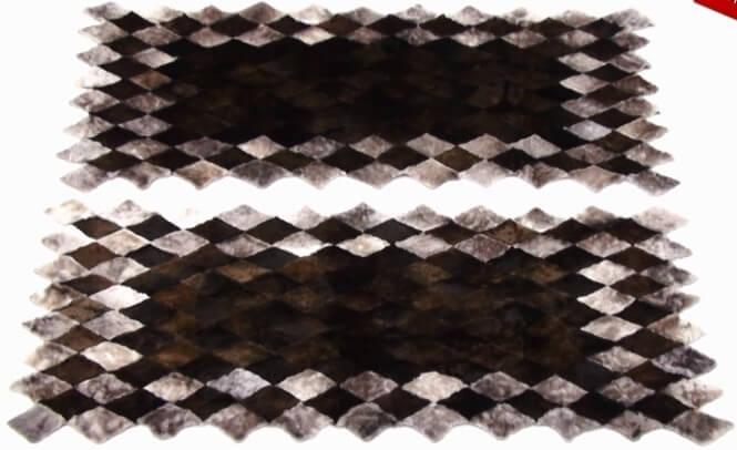 Меховой коврик