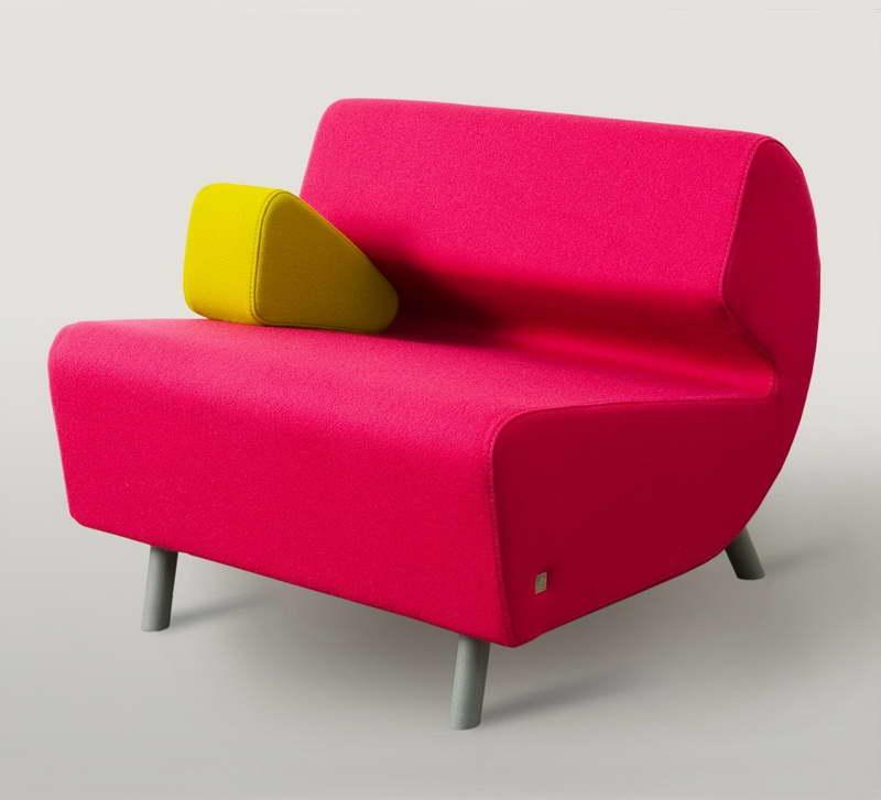 Мини-диван в стиле поп арт