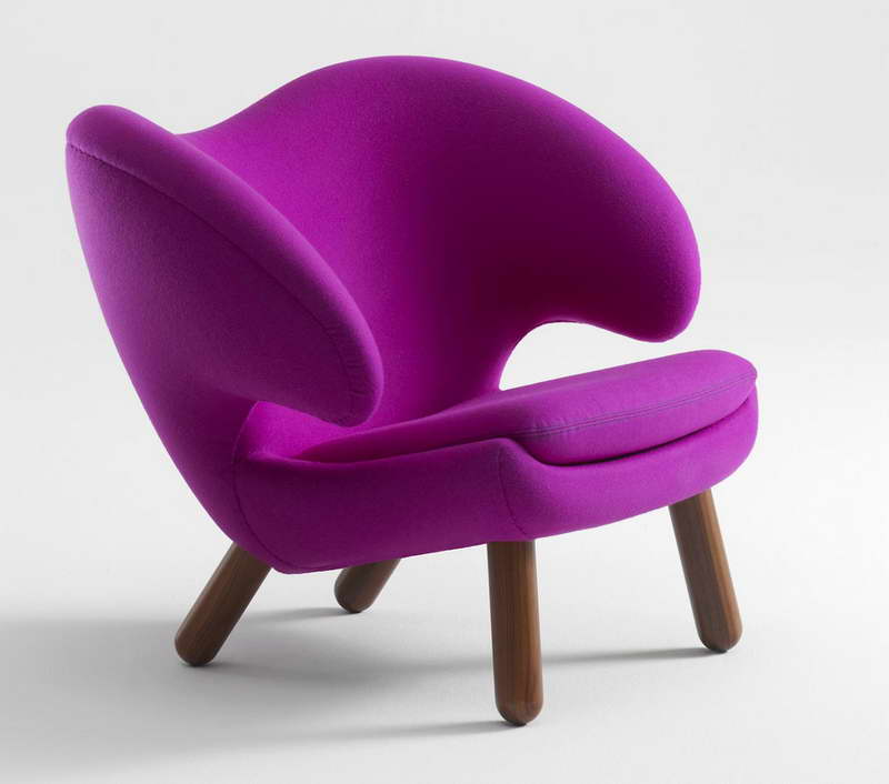 Кресло в стиле поп арт