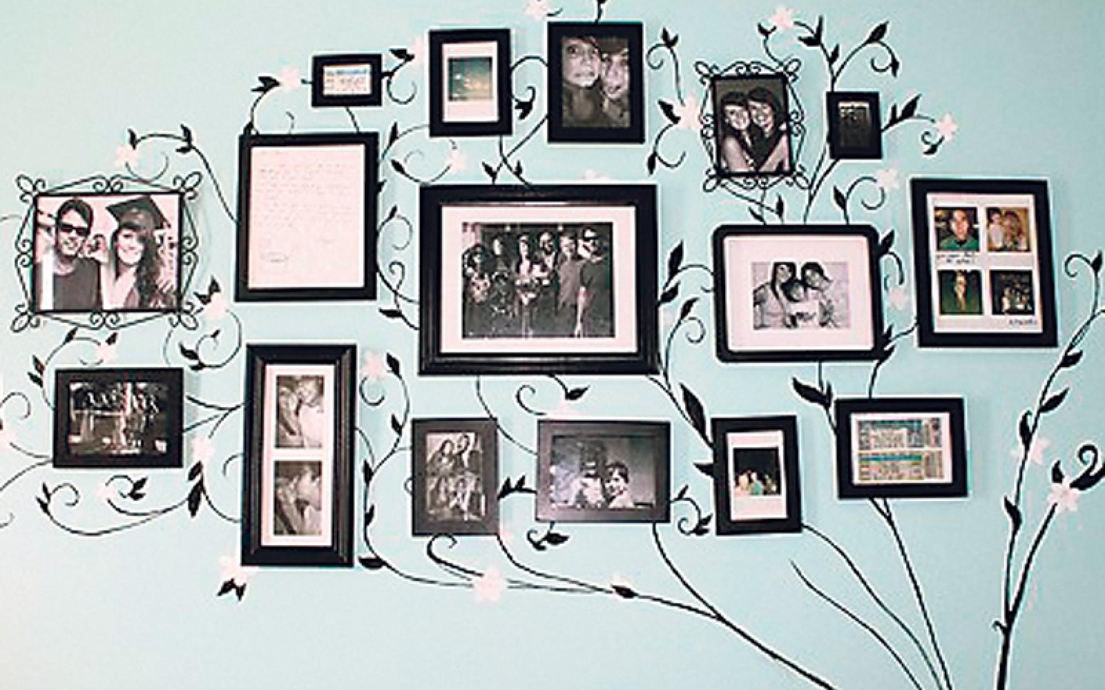 Картина с фотографиями своими руками