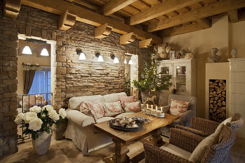 Фото дизайн интерьер дом в стиле прованс