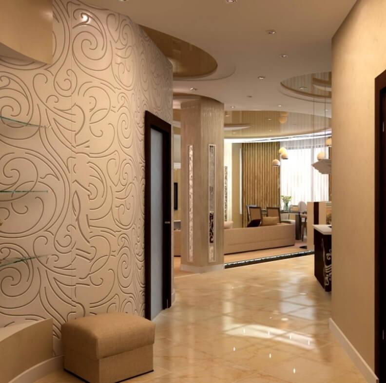 Интерьер коридор квартиры фото