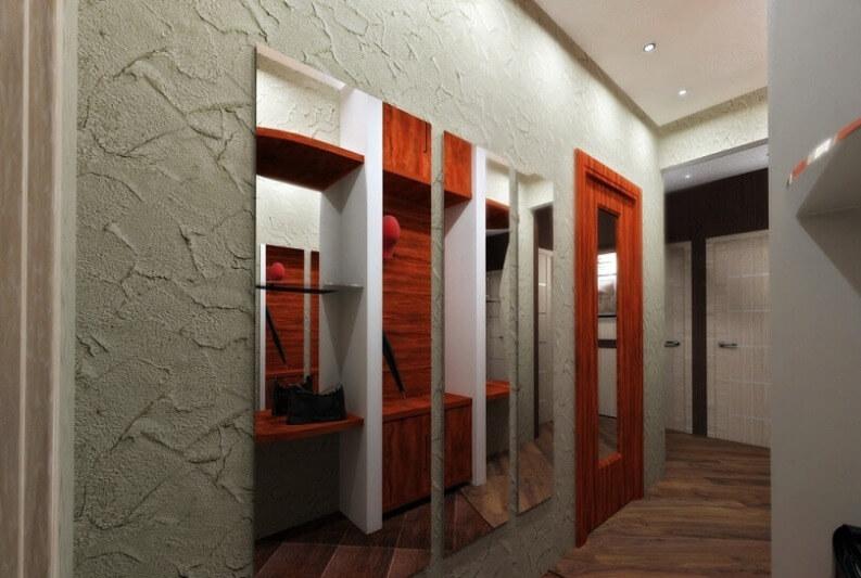 Декоративная штукатурка фото в коридоре