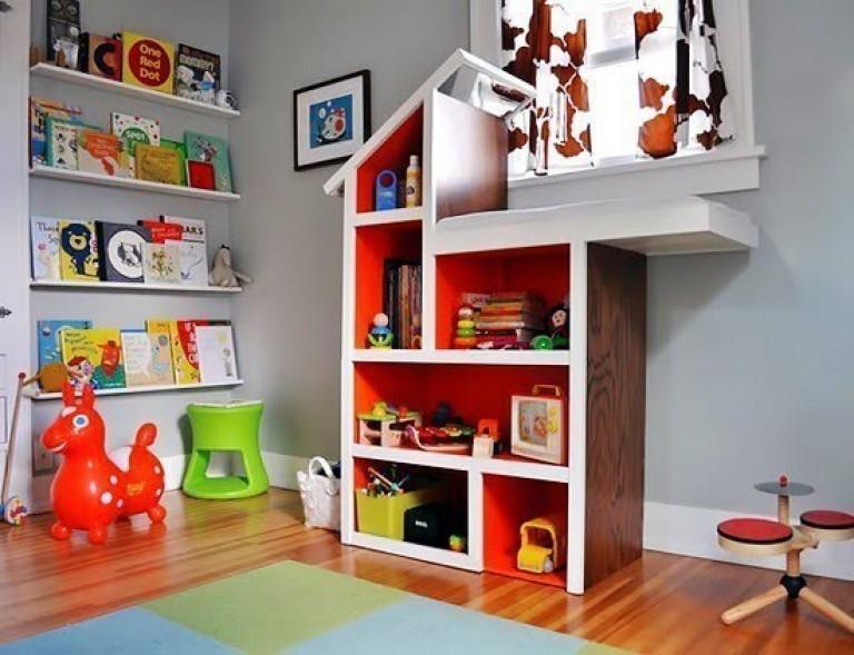 Как сделать дом для игрушек своими руками