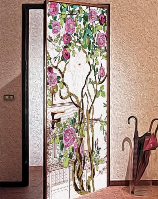 Декор для дверей своими руками фото