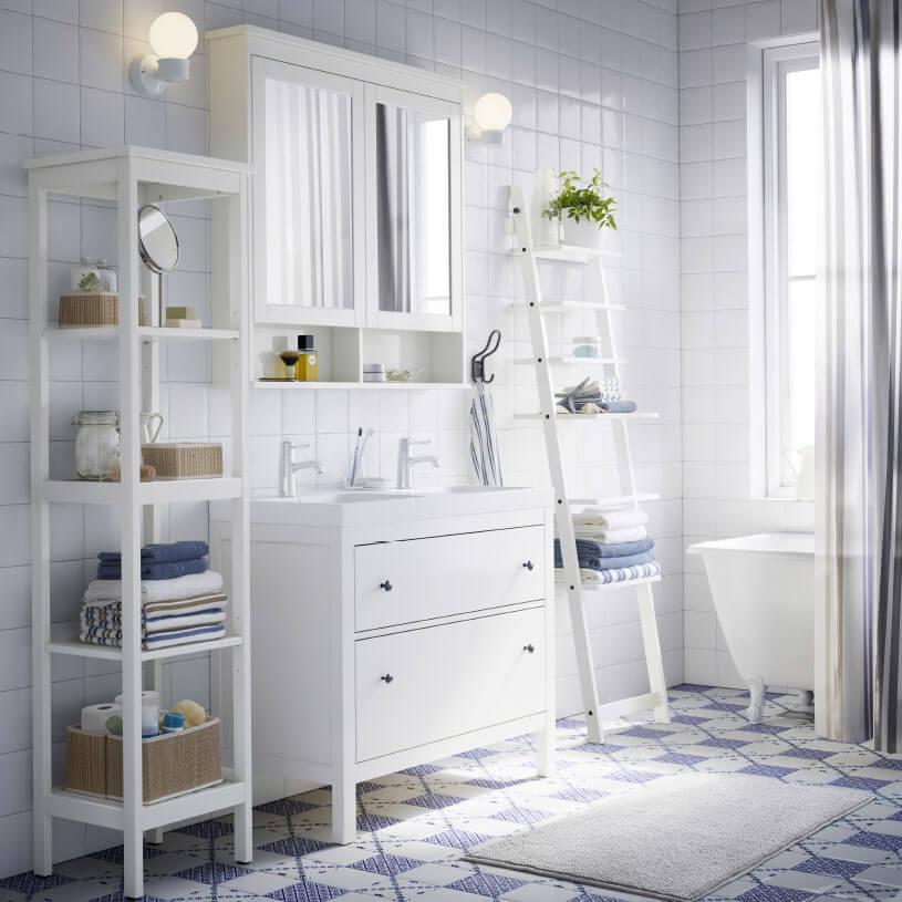 Badezimmer spiegelschrank landhausstil