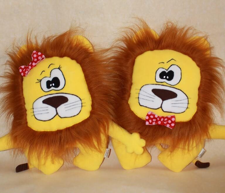 Лев подушка своими руками