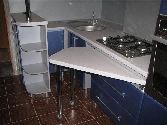 Барные стойки на маленькой кухне фото своими руками