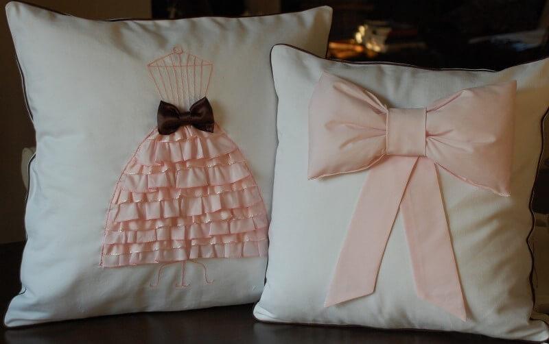 Подушка своими руками девочке