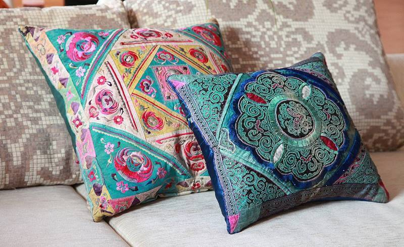 Подушки на диван своими руками