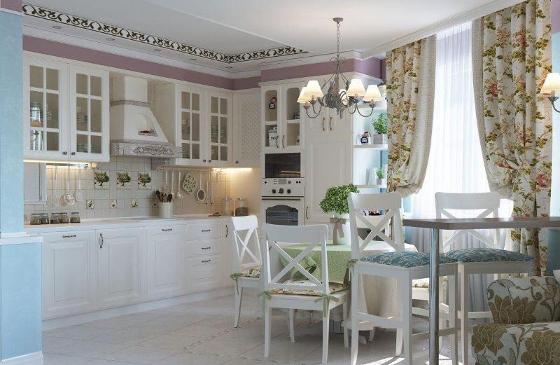 Дизайн кухни в стиле прованс