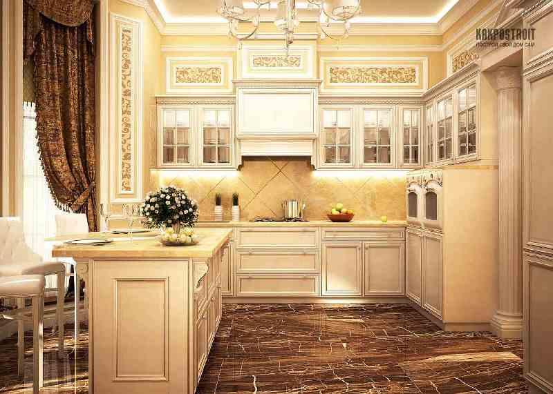 Дизайн для классической кухни 6