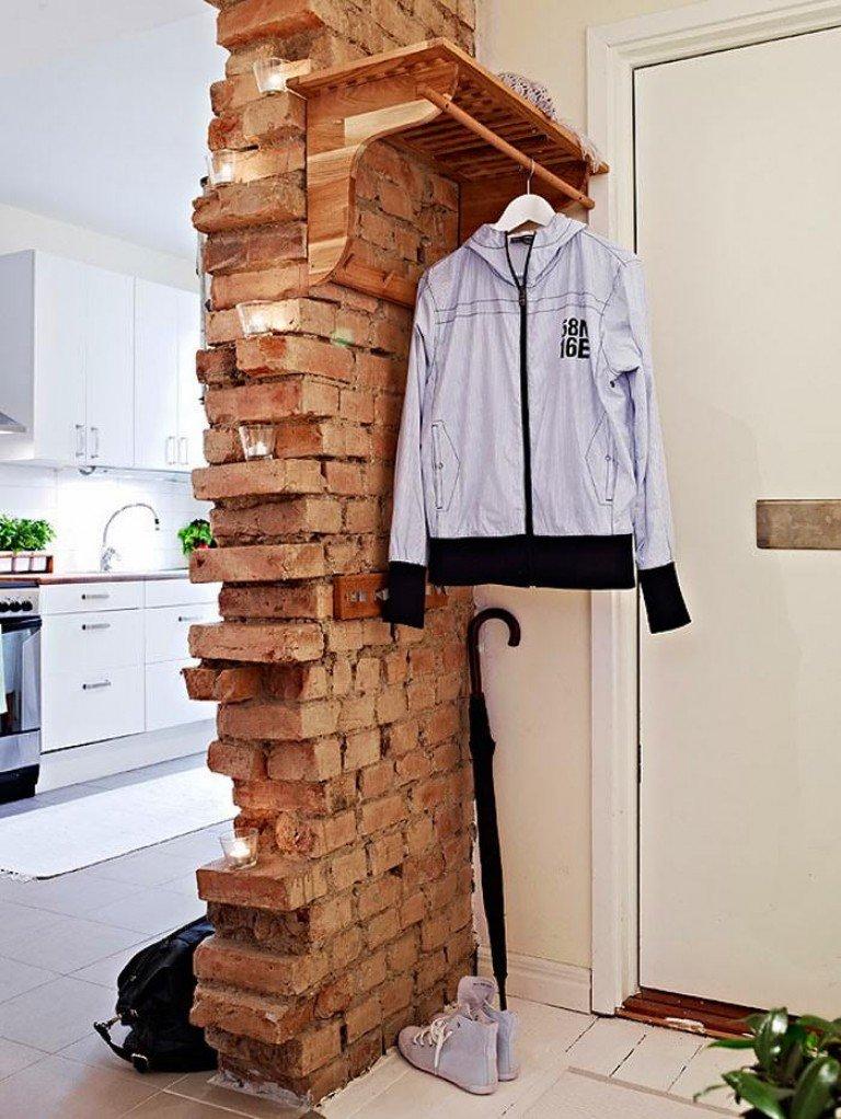 Как сделать кирпичную стену в интерьере своими
