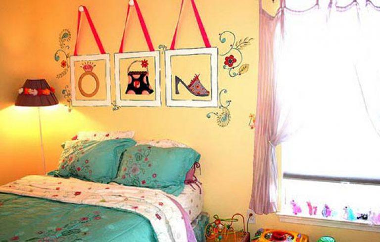 Как украсить стену комнаты подростка своими руками