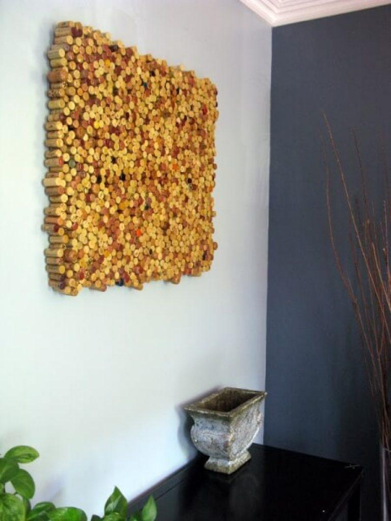 Декор стен своими руками в домашних условиях