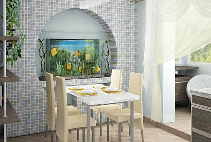 арка-ниша в стене