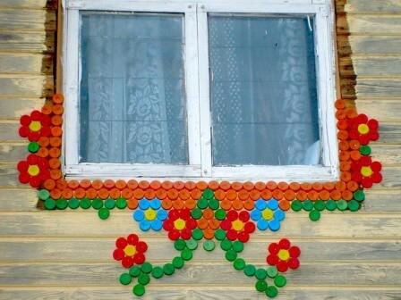 Декор дачного дома своими руками