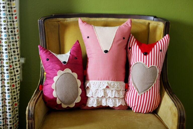 Подушки в виде игрушек