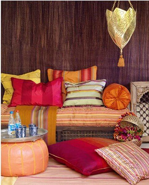 Подушки в восточном стиле