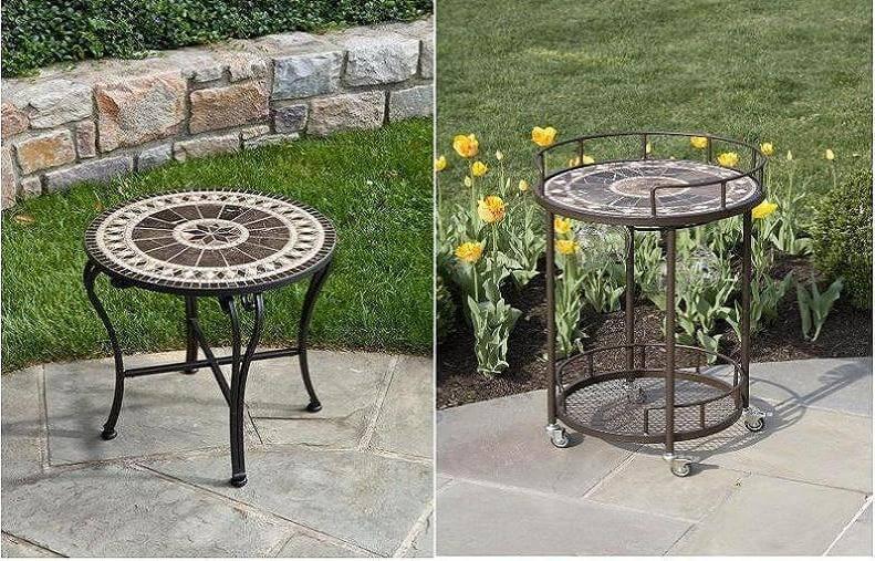 Мебель из мозаики