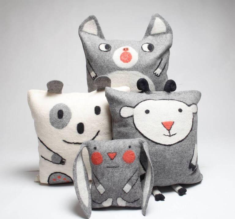 Игрушки животных своими руками из ткани