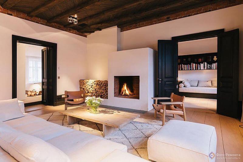 Дизайн двухкомнатной квартиры распашонки