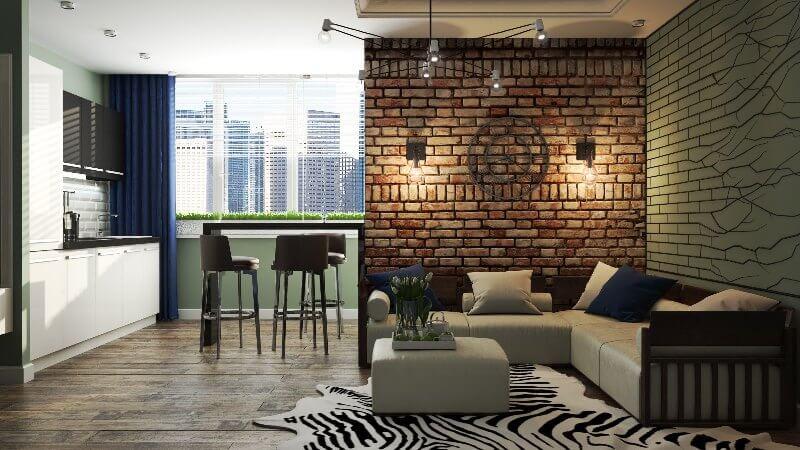 Как обустроить маленькую квартиру-студию фото, советы по 4