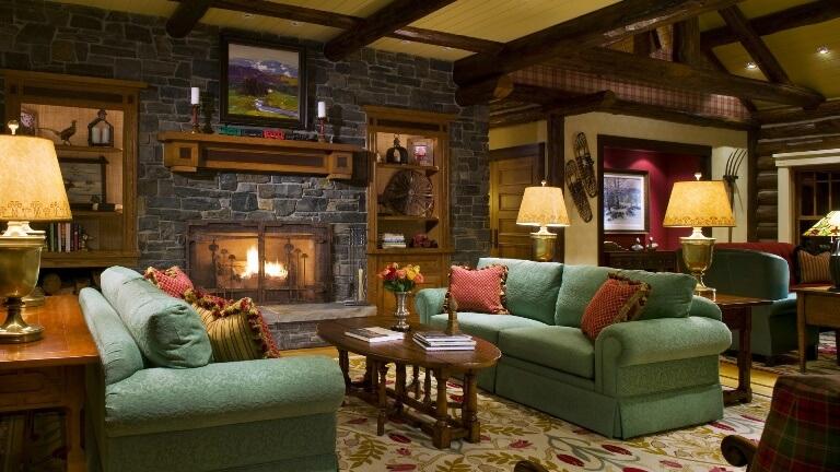 Уютная гостиная