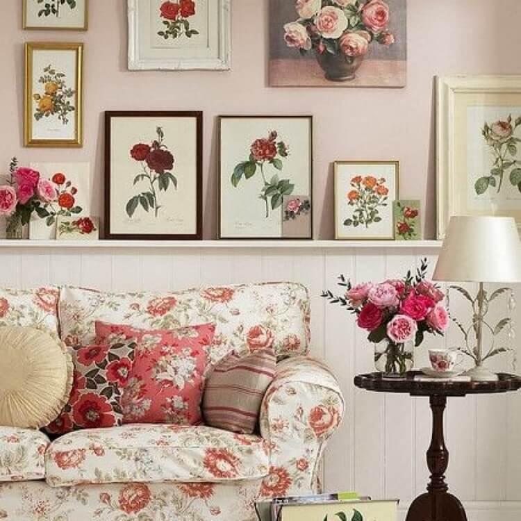 Цветочный декор