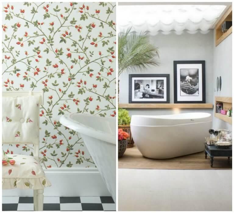 Весенний декор ванной