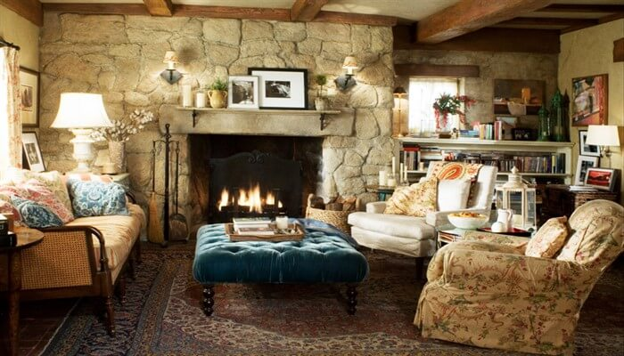 Уютный интерьер