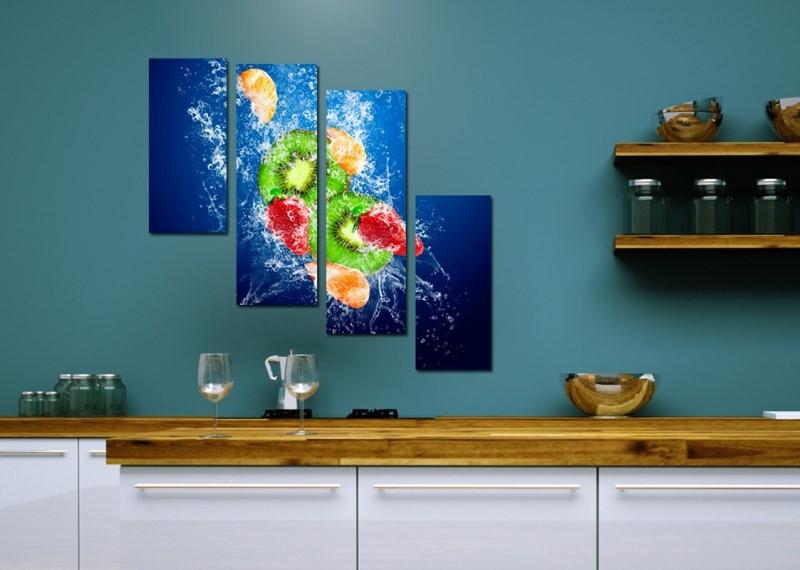 Модульная картина для кухни