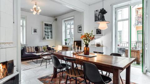 Дизайн интерьера лофта в скандинавском стиле