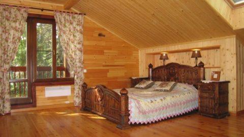 Идеи интерьера для деревянного дома