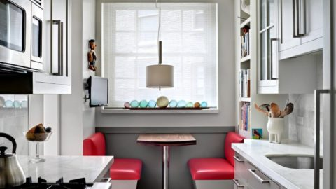 Обустройство интерьера маленькой кухни: советы, идеи