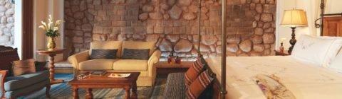 Шикарный отель Palacio Nazarenas в городе Куско
