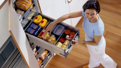 Хранение на кухне: инновационные компактные решения