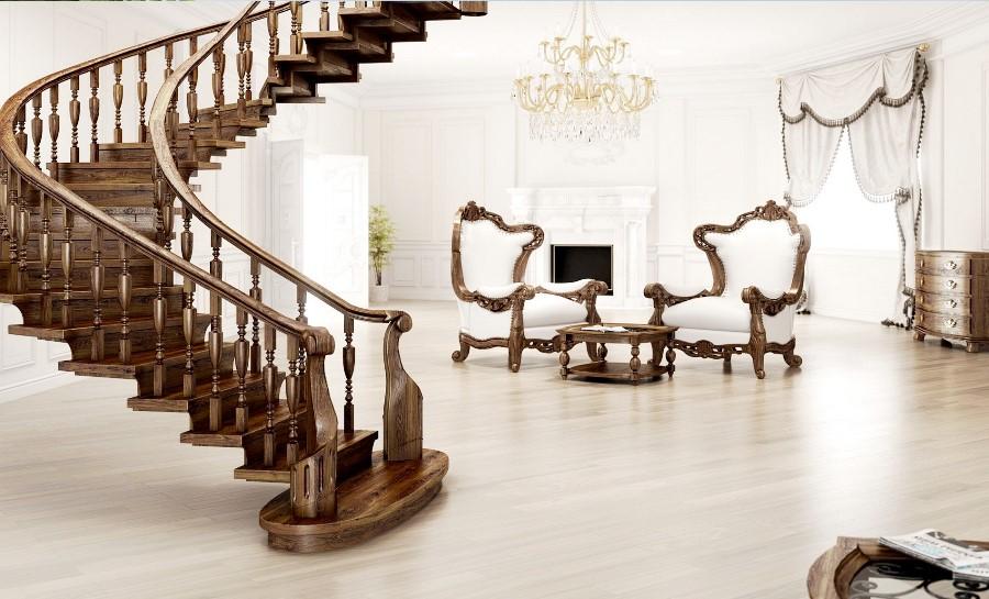 Лестница в стиле Винтаж