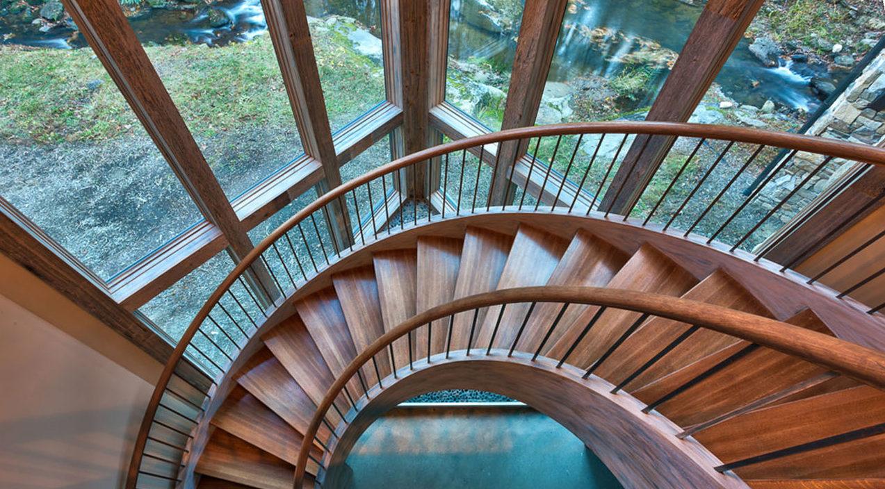 Дизайн винтовых лестниц для частного дома