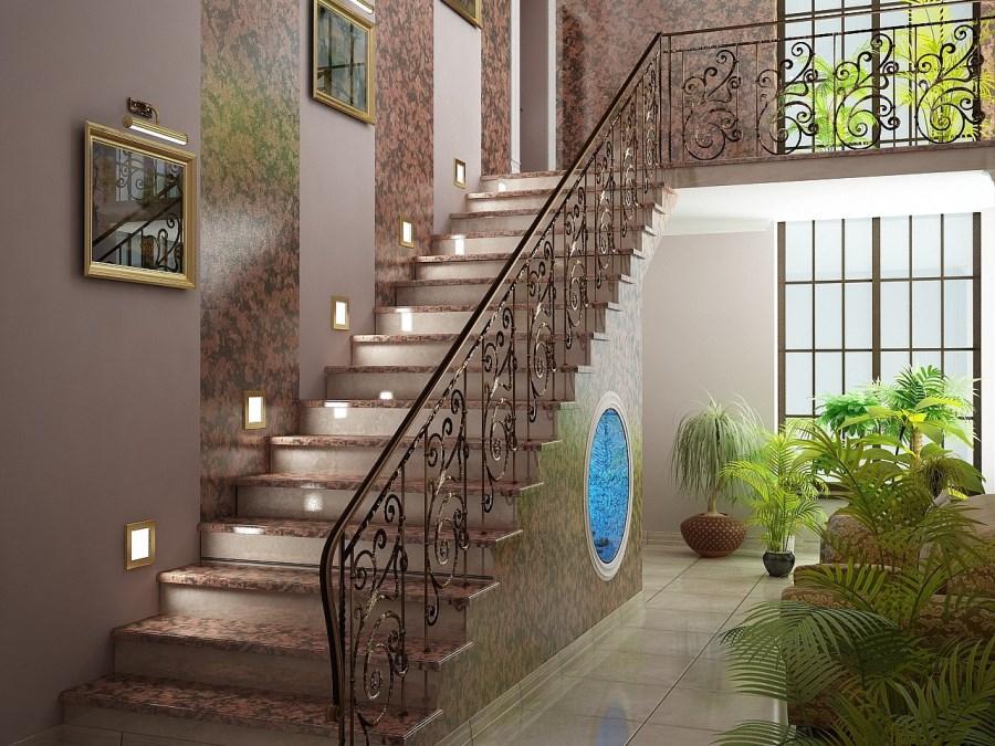 Дизайн лестниц для частного дома