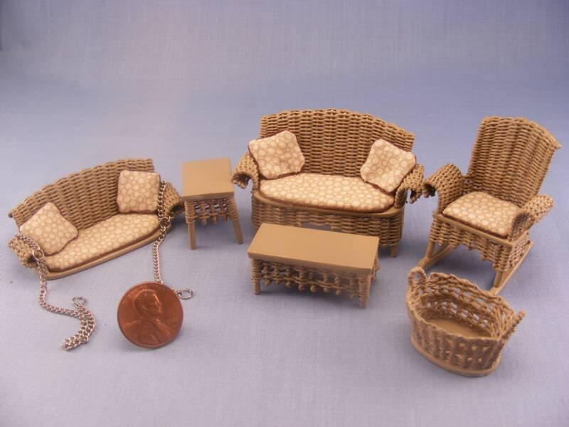 Игрушечная мебель из картона своими руками