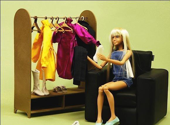 Фото как сделать кукольную мебель своими руками 11