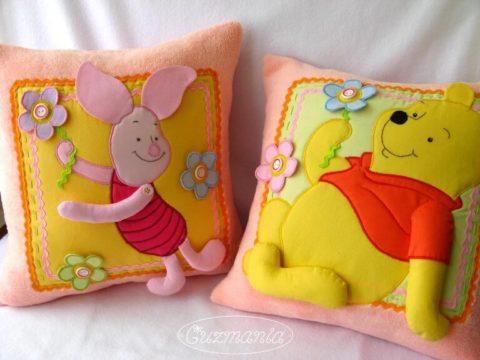 Креативные идеи: подушки-игрушки своими руками