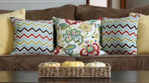 Современные декоративные подушки для украшения интерьера
