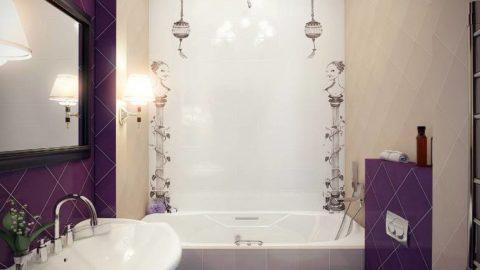 Дизайн ванной комнаты в хрущевке. Современный интерьер ванной