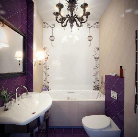 Дизайн ванной комнаты в хрущевке: принципы планировки, мебель и цветовая гамма